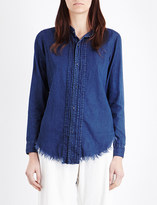 NSF Mirabelle denim shirt