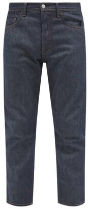Acne Studios River Raw-denim Tapered-leg Jeans - Mens - Indigo