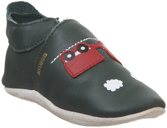 Bobux Soft Sole Crib Shoes Forest Train And Carriage