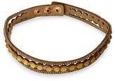 Expression Three-Row Stone Choker Necklace