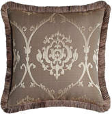 Dian Austin Couture Home European Le Plaza Damask Sham with Fringe