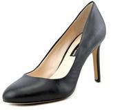 INC International Concepts Bensin Round Toe Leather Heels.