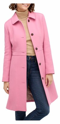 J.Crew Women's Classic Lady Day Coat in Italian Double-Cloth Wool