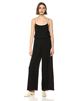 Theory Women's Ribed Wide Leg Jumpsuit