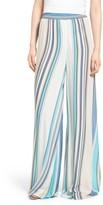 Wildfox Couture Women's Havana Stripe Wide Leg Pants
