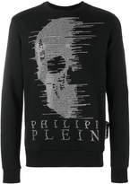 Philipp Plein skull embellished sweater