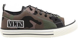 Valentino VLTN Giggies Camouflage Low-Top Sneakers