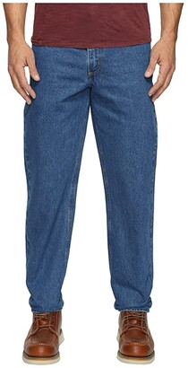 Carhartt Relaxed Fit Tapered Leg Jean (Darkstone) Men's Jeans