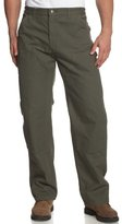 Carhartt Men's Double Front Work Dungaree Washed Duck B136