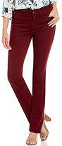 NYDJ Petites Marilyn Straight Leg Luxury Touch Jeans