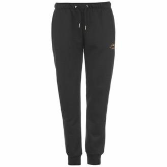 Lonsdale London Womens Slim Jogging Pants Black 10 (S)