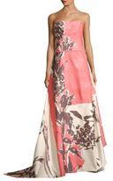 Carolina Herrera Botanical Floor-Length Gown