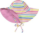 I Play Reversible Brim Sun Protection Hat - Pink - 9-18 Months