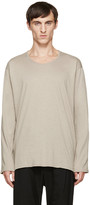 Nude:mm Beige Long Sleeve T-Shirt