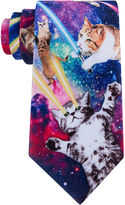 Asstd National Brand American Traditions Galaxy Cat Tie