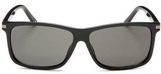 Polaroid Men's Polarized Square Sunglasses, 59mm