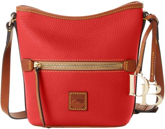 Dooney & Bourke Pebble Grain Small Zip Sac