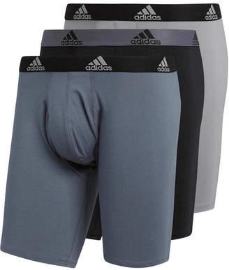 adidas Men 3-Pk. Cotton Stretch Midway Briefs