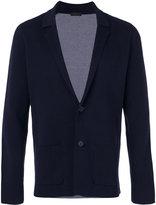Z Zegna notched lapel blazer - men - Cotton - L
