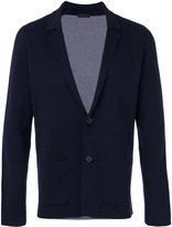 Z Zegna notched lapel blazer - men - Cotton - M