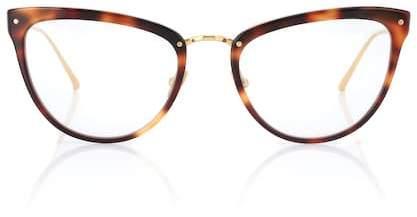 Linda Farrow 683 C11 cat-eye glasses
