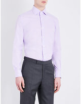 Corneliani Checked Cotton Shirt