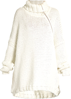 Marques Almeida MARQUES'ALMEIDA Roll-neck oversized cotton-blend sweater
