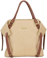 Timi & Leslie Charlie Diaper Bag Set - Sand/Cinnamon