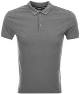 Giorgio Armani Jeans Short Sleeved Polo T Shirt Grey