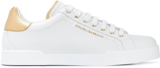 Dolce & Gabbana Portofino leather sneakers