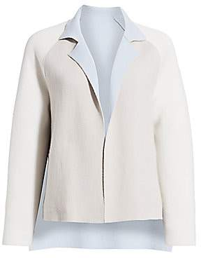 Akris Women's Reversible Double Face Cashmere Knit Jacket