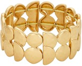 Bella Uno Multi-Shape Double Row Stretch Bracelet