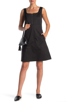 Lafayette 148 New York Amoya Zip Detailed Dress