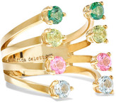 Delfina Delettrez 9-karat Gold, Topaz And Peridot Ring