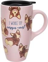 Enchante I Woke Up Corgeous Travel Mug