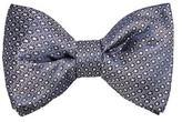MANGO Geometric print bow tie
