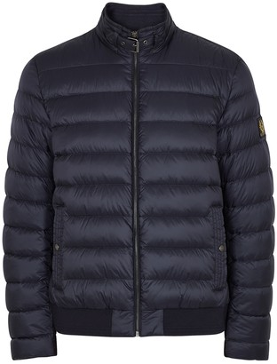 Belstaff Circuit Navy Quilted Shell Jacket