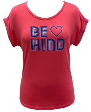 Style&Co. Style & Co Plus Size Be Kind Graphic Top, Created for Macy's