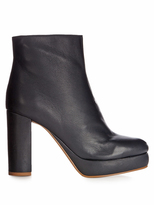 See by Chloe Liza leather platform ankle boots