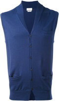 Ballantyne V-neck gilet - men - Cotton/Cashmere - 46