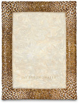 "Jay Strongwater Feather 5"" x 7"" Frame"