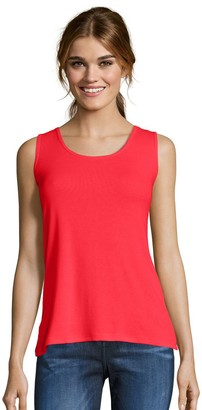 Hanes Women's Mini-Ribbed Tank Top