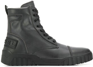Diesel sneaker-style ankle boots