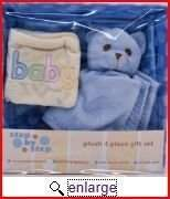 Pem America Plush Gift Set Gift Basket Blue