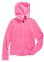 Juicy Couture Girl's Robertson Scotty Crest Hoodie