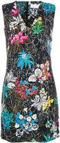 Peter Pilotto floral print mini dress - women - Polyester/Spandex/Elastane/Acetate/Viscose - 12