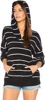 Chaser Kanga Pocket Hoodie in Black & White