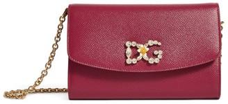 Dolce & Gabbana Leather Mini Shoulder Bag