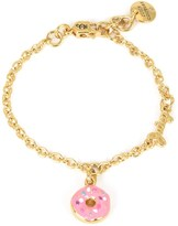 Juicy Couture Girls Donut Party Charm Bracelet