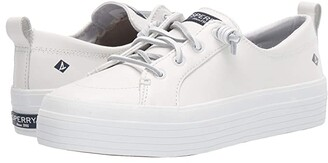 Sperry Crest Vibe Triple Leather (White) Women's Shoes